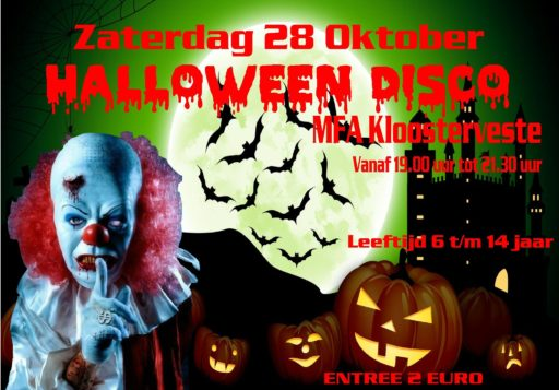 Halloween Weetjes.Halloween Disco Wijk Kloosterveen